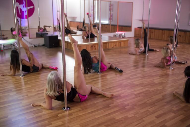Dance conditioning pole divas